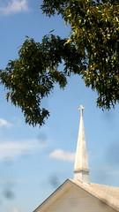 IMG_0007 (revjdevans) Tags: coushatta coushattalouisiana holleysprings church steeple methodist