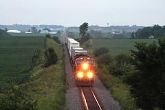 BNSF 3811 (CC 8039) Tags: bnsf trains et44c4 ac44cw milledgeville illinois