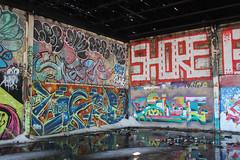 Loser, Ajae, Snarf, Spar, Chef, Shore (NJphotograffer) Tags: graffiti graff new jersey nj shortys skatepark diy skateboarding abandoned building urban explore loser aids crew ajae ayn snarf 2wcrew 2w spar chef shore roller