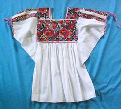 Mexican Blouse Michoacan Purepecha (Teyacapan) Tags: blusas blouses mexican embroidered ropa clothing michoacan tarecuato purepecha