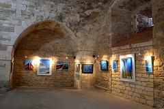 L'intérieur du bastion royal (florence.V) Tags: france poitoucharentes charentemaritime 17 iledoléron lechâteaudoléron citadelle bastion expo