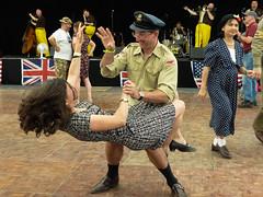 War and Peace Revival 2017 (WillzUK) Tags: dancing war revival reenactors military july 2017 hop farm kent saturday peace show vintage
