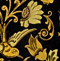 texture, damascene, Toledo, Spain, (David McSpadden) Tags: metals macromondays spain texture toledo damascene