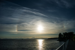 Sundog (eddiegarry) Tags: sundog sunset seattle