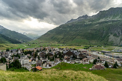 Evening with dark weather (jaeschol) Tags: cantonuri europa kantonuri kontinent schweiz suisse switzerland andermatt uri ch
