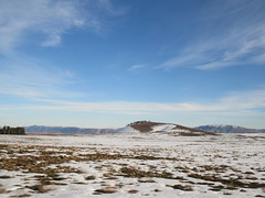 Hillock, distant mountains from snow fields, Middle Atlas near Azrou, Morocco (Paul McClure DC) Tags: middleatlas morocco jan2017 almaghrib ifrane azrou mountains winter scenery snow northafrica