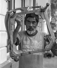 (Magdalena Roeseler) Tags: street streetphotography candid people india bw blackandwhite monochrome sw art mumbai bombay