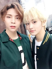 Mark & Johnny (NCT) (Snob_Mushroom) Tags: nct nct127 127 kpop american canadian korean man johnny 쟈니 seo youngho 서영호 mark 마크 lee minhyung 이민형