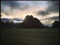 Cracking evening up at The Rec (galvogalvo) Tags: cracking evening up the rec instagram