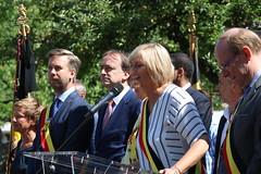 IMG_0184 (Patrick Williot) Tags: waterloo fetes communal parc juillet discours drapeau