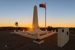A star is born (Brian Bornstein) Tags: brianbornstein northernterritory anzachill cityscape sunrise canon6d alicesprings sunburst