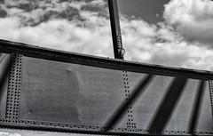 Brücken Impressionen / Bridges Impressions (ruedigerhey) Tags: deutschland germany hamburg city europe harbor architecture water sky summer travel urban building europa beautiful wasser stadt architektur hafen boat speicherstadt grasbrook hafencity hh harbour port hansestadt geometry elbphilharmonie town tourist attraction outdoor hafenviertel landstrase skyline hafengeburtstag schiffe boote museumsschiffe feuerwerk museumsschiff michel michaelis kirche turm gebäude uhrenturm himmel elbbrücke stahl niete