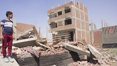 One of the demolished buildings (Kodak Agfa) Tags: egypt warraq warraqisland citizenjournalism giza islands island egyptianislands egyptianisland sonynex sony news mideast middleeast northafrica mena africa مصر الوراق جزر الجيزة جزيرةالوراق buildings building architecture