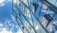 Oxygen (Jorden Esser) Tags: hss openwindows reflection sky sliderssunday topsyturvy upsidedown windows
