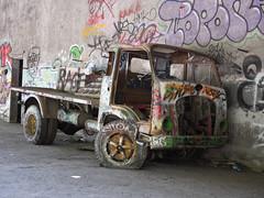 E-M1MarkII-High Res 80 MP (spline_splinson) Tags: consonno graffiti graffitiart graffity italien italy lostplace losttown oldcar oldtruck ruin ruinen ruins truck hires lombardia it high resolution 80 megapixel