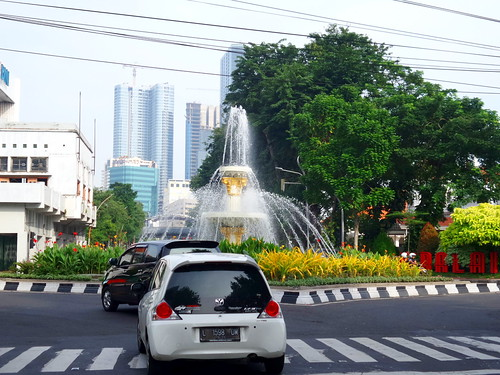 Air Mancur Jalan Pemuda