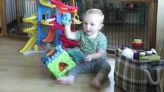 chucking balls (carolyn_in_oregon) Tags: jacob portland oregon video