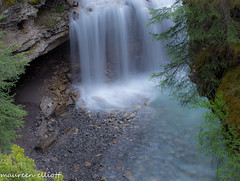 Look Below (maureen.elliott) Tags: waterfall banff banffnationalpark waterflow canyon johnstoncanyon canadianrockies river nature outdoors lookingdown