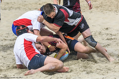 H6G64117 Ameland Invites v Baba Bandits (KevinScott.Org) Tags: kevinscottorg kevinscott rugby rc rfc beachrugby ameland abrf17 2017 vets veterans netherlands