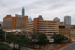 Austin Skyline From Garage (formulanone) Tags: austin texas skyline cityskyline