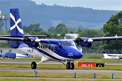 G-HIAL DHC-6 TWIN OTTER (douglasbuick) Tags: aircraft dhc6 twin otter ghial loganair egpf glasgow aviation flickr scotland taxiing airlines nikon 3100
