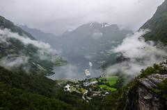 Geiranger Fjord - Geiranger (Lichtfänger76) Tags: geiranger fjord norwegen nikon d5100