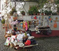 Portugal (Obidos) One of the traditional shops (ustung) Tags: portugal obidos street vendor gift present shop nikon
