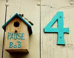 Number 4 is vacant (Ingrid Friis Photo) Tags: bedandbreakfast paus break breakfast frukost scania sweden tommelilla free vacant