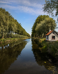 8A0A4068 - Copy (ct_purley) Tags: belgium bruges damme real canal windmill trees