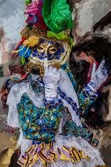 Touloulou impressioniste (Bernard-973) Tags: touloulou cayenne carnaval carnival guyane impressionniste monet bernardmajza bernard973