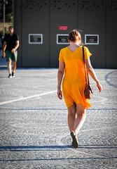 Yellow (Chiaro Chiari) Tags: yellow dress milan fashion moda mode style color milano citylife vogue giallo vestiti stile colore street