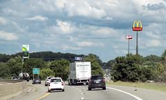 I-94 going East (Mr. History) Tags: i94 freewa mcdonalds wendys bp