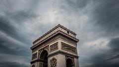 Arc de Triomphe (Sam-H-A) Tags: france paris parisian french architecture design history sky clouds fujifilmxt2 fujifilm xt2 myfujifilm summer 2017 travel