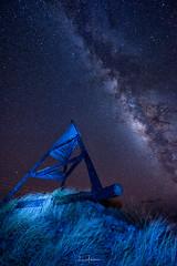 2017 Milky Way Tour @ the Waikoloa Canoe Sail Structure 01 (JUNEAU BISCUITS) Tags: milkyway astronomy astrophotography nikond810 nikon nightphotography nightsky stars longexposure hawaii waikoloa canoesailstructure bigisland waimea