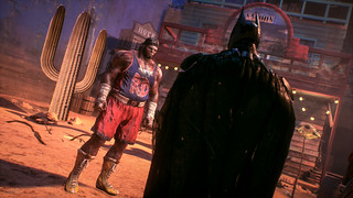 Batman: Arkham Knight / He's Actually Quite Huge