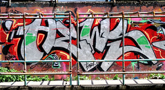 graffiti and streetart in bangkok (wojofoto) Tags: graffiti streetart bangkok thailand wojofoto wolfgangjosten hews