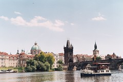 Bridge (Andy Yankovskyi) Tags: eurotrip film fujifilm superia europe photography prague czech republick city sites street
