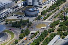 München von Oben + Tollwood (sebastiangrasegger) Tags: münchen tollwood olympiaturm olympiapark kunst landschaft kulturen blickwinkel bayern