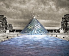 Paris surreal (mmalinov116) Tags: paris париж france франция surreal louvre pyramid пирамида нереално city capital urban surrealism style