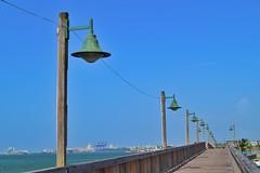 Paseo tablado Cataño, PR (Nelvin Santiago) Tags: relic lights sky blue cataño puertorico boardwalk