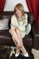 She's something else (Julie Bracken) Tags: cindy cd tgurl feminized xdresser mature old tv portrait hair red fashion transvestite mini skirt transgender m2f mtf transsisters enfemme ginger party tranny trannie heels nylon julieb85 crossdressing crossdresser tgirl feminised kinky pantyhose 2015