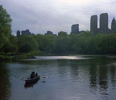 Central Park - 2 (Ogeido) Tags: gsw690 mediumformat 120 film expired lomography centralpark newyork water park trees citypark people usa lomo