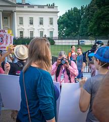 2017.07.26 Protest Trans Military Ban, White House, Washington DC USA 7628