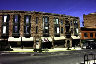 Helena Montana ~ Diamond Block 1888 ~ Historic Building