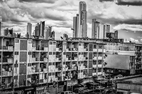 Contrast - Two Sides of Panama