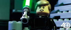 16. Give In To Your Aggressive Feelings! (kyle.jannin) Tags: lego legostarwars starwars episodevi vi return jedi lukeskywalker deathstar death star ii final duel