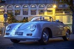 Porsche Speedster in Saint Gaudens (Folko Seinsch) Tags: frankreich gr10 hauterandonnéepyrénéenne pyrenäen trekking wandern saintgaudens languedocroussillonmidipyrén languedocroussillonmidipyrénées fr