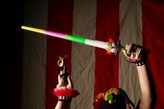 Boomer's Grand Entrance (Studio d'Xavier) Tags: werehere thegreattoyadventuregroup boomersgrandentrance circus clown toys boomer grandentrance 365 july282017 209365 cirkquedxavier