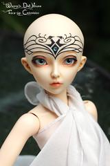 Navigator girl (wixanawiggova) Tags: minifee fairyland doll bjd bjddoll balljointeddoll celine faceup facetattoo tattoo navigator warhammer