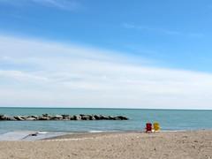 deux // lake Ontario beach (ettella) Tags: beach lakes ontario outdoors spring